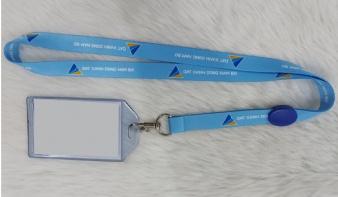 Sản Xuất dây đeo thẻ theo yêu cầu chất lượng tốt - giá rẻ - thời gian nhanh.